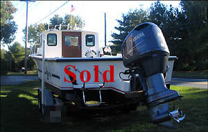 C-Hawk 25' 1991 Sport Fishing Boat for Sale with 2004 Yamaha